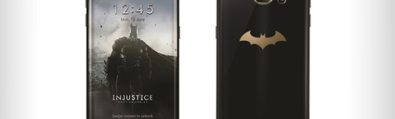 Samsung's Batman-Themed Galaxy S7 Edge Injustice Edition Announced